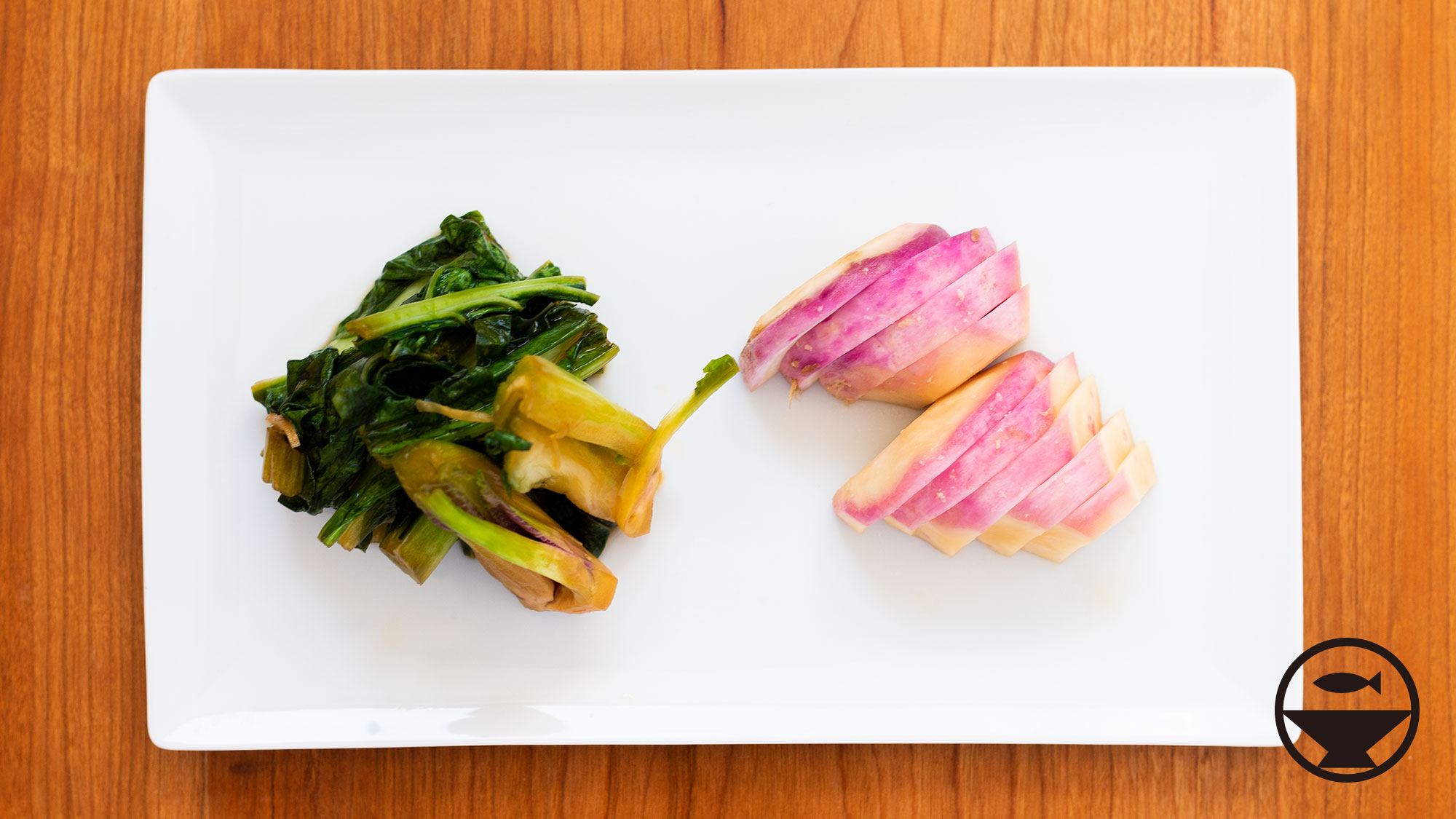 野沢菜のお漬物
