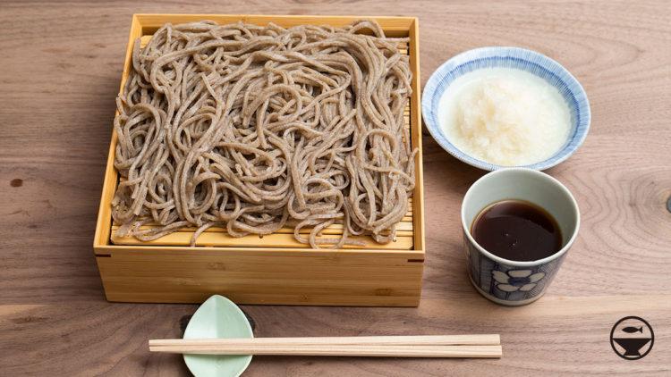『本朝食鑑』の蕎麦汁で高山製粉の玄挽を食べる