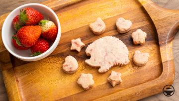 生イチゴのクッキー