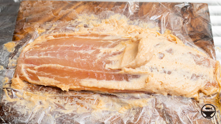 イサキの味噌粕漬け