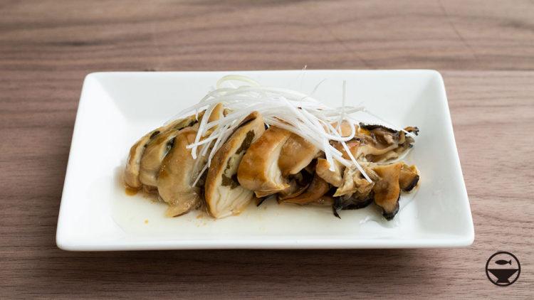牡蠣の太白オイル煮